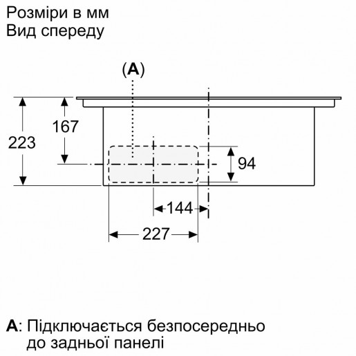 Варочная панель BOSCH PIE611B15E
