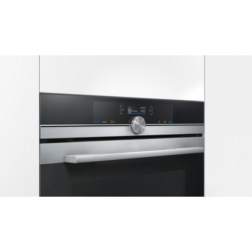 Духова шафа з мікрохвильовим режимом SIEMENS HM676G0S1