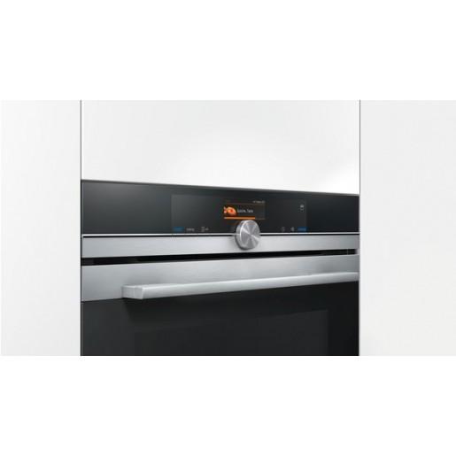 Компактний духова шафа-пароварка SIEMENS CS636GBS2
